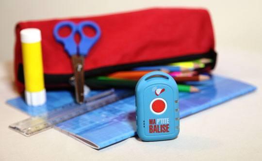 ma ptite balise trousse cahier Ma Ptite Balise : la première balise GPS pour enfant