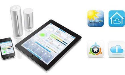 Les applications compatibles avec la station météo Netatmo