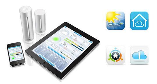 Netatmo weather station app