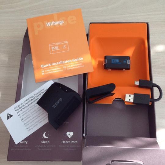 Withings Pulse accessoires Avant Première : 24 heures avec le Pulse de Withings