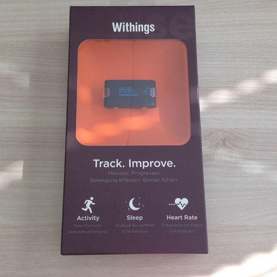 Withings Pulse packaging