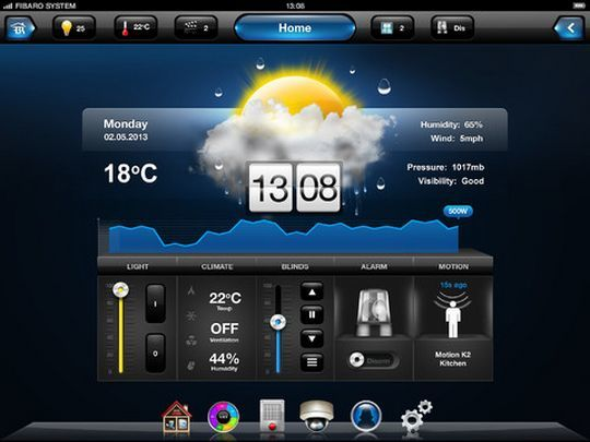fibaro hc2 ipad app