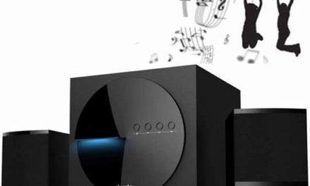 ebode BTS21, un système audio stéréo 2.1 Sans Fil Bluetooth