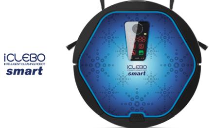iCLEBO Smart, le premier robot aspirateur Wi-Fi