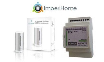 ImperiHome 1.9 : Eco-Devices et améliorations Netatmo