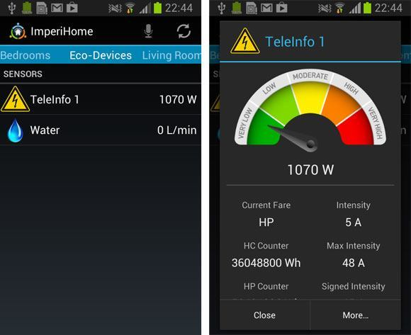 imperihome eco device screenshot ImperiHome 1.9 : Eco Devices et améliorations Netatmo