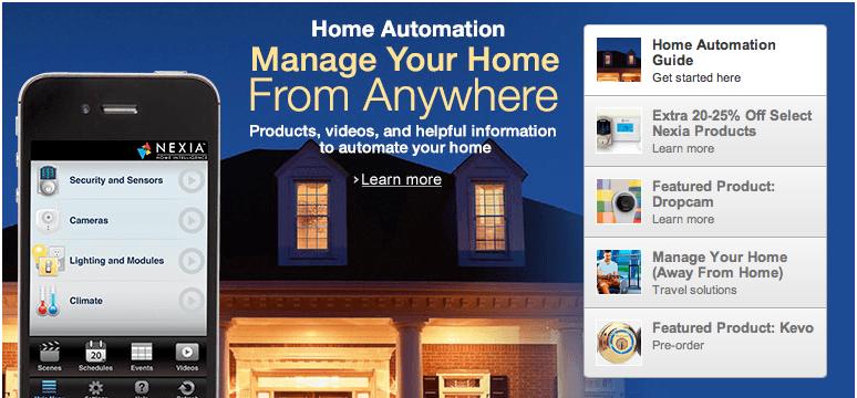 titre amazon homeautomation