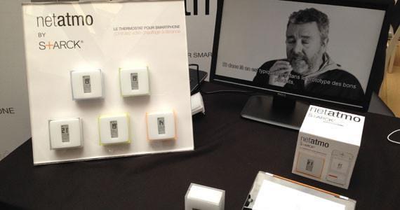 CES Unveiled Paris 2014 Netatmo starck thermostat01