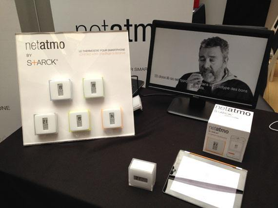 CES Unveiled Paris 2014 Netatmo starck thermostat01