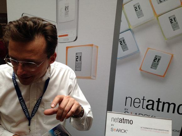 CES_Unveiled_Paris_2014_Netatmo_starck_thermostat02
