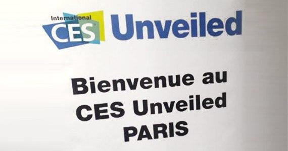 CES Unveiled Paris 2014 logo