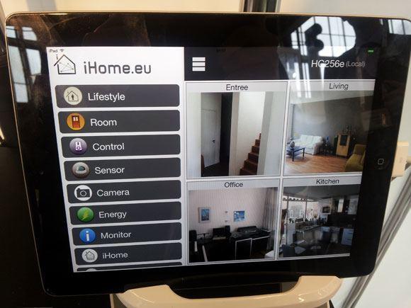 EUW13_Benext_iHome_ipad_app_menu