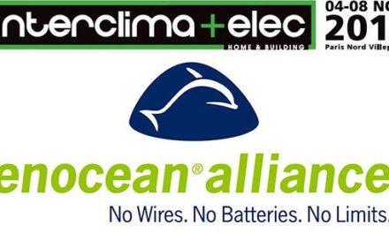 EnOcean Alliance en force au salon Interclima + Elec