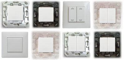 Inter 8 n Vimar : Des interrupteurs EnOcean personnalisables