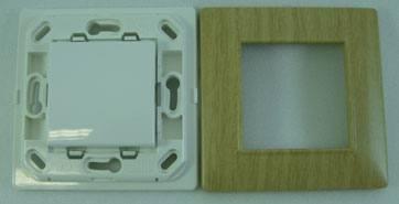 Inter simple SP W + P BOIS n Vimar : Des interrupteurs EnOcean personnalisables