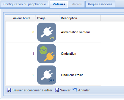 Onduleur_liste_valeurs