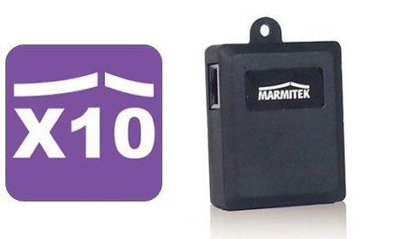 Marmitek TIP10RF : une box domotique X10
