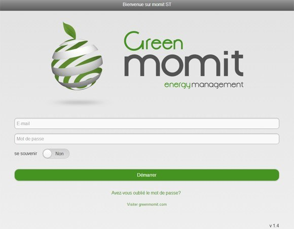 Guide de fonctionnement du Momit Smart Thermostat