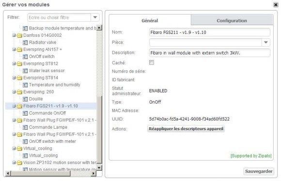 Guide d'installation du Micromodule commutateur FGS-211 FIBARO avec la Zipabox