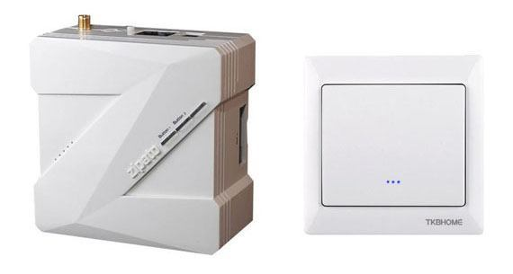 Zipabox et TKB HOME TZ66 S Interrupteur ONOFF simple