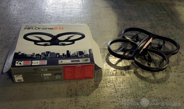 ar drone nums #CES2014 : Parrot présentera til un nouveau drone à Las Vegas ?