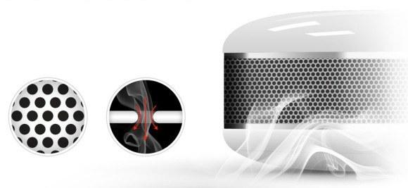 fibaro smoke sensor FGSS 001 grille 580x267 Le détecteur de fumée Fibaro FGSS 001 est arrivé !