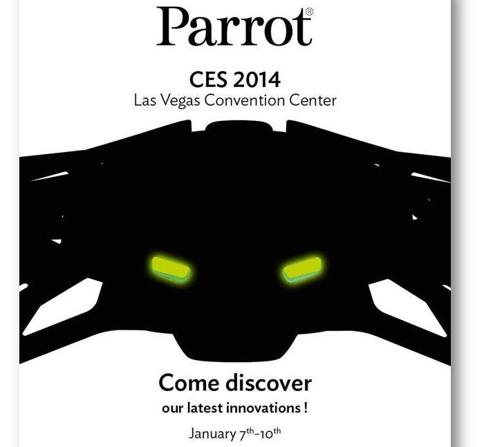 parrot ar drone 3 #CES2014 : Parrot présentera til un nouveau drone à Las Vegas ?