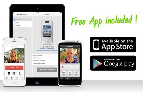 smartbell free app SmartBell, une sonnette Wi Fi et Z Wave !