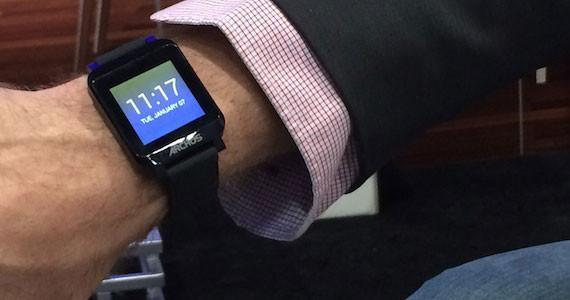 Achos smartwatch CES 2014