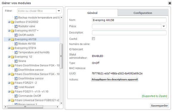 Module Prise ON OFF avec mesure denergie AN156 6 Eversrpring Zipabox 5 - Domotique - ZipaBox de Zipato