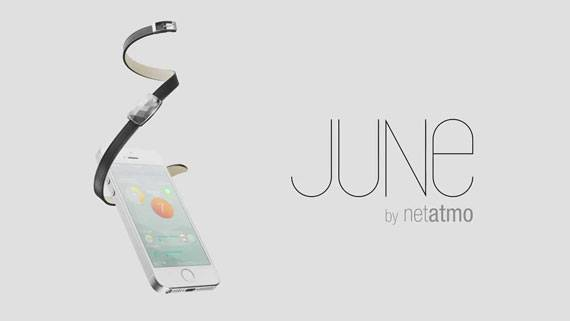 #CES2014 : Netatmo présente June, un capteur d'exposition au soleil