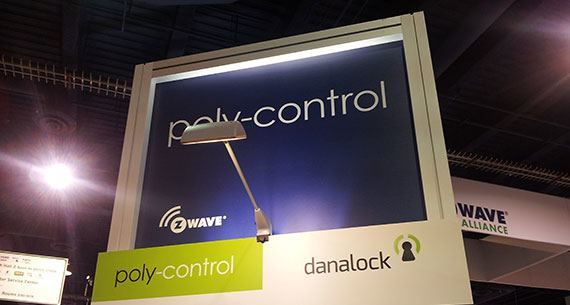 danalock poly control ces2014