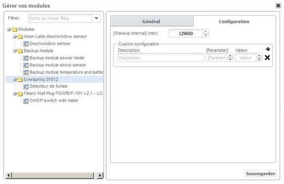 Guide d'installation du détecteur de fumée Everspring SF812 avec la Zipabox