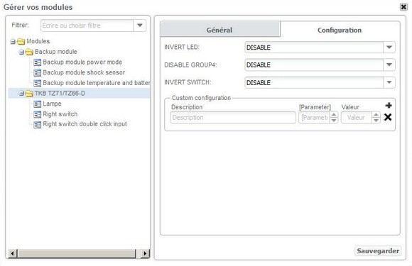 Guide d'installation de l'interrupteur ON/OFF simple TKB-Home TZ66-S avec la Zipabox