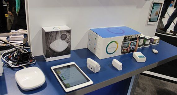 SmartThings ces2014 booth