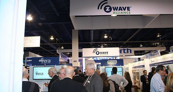 Z Wave Alliance Booth CES2014