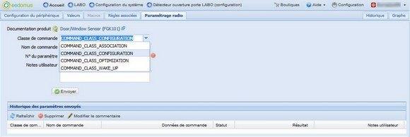 Guide d'installation du détecteur d'ouverture Fibaro FGK avec la Eedomus