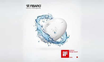 Le détecteur d'inondation Fibaro reçoit le prix IF Design 2014