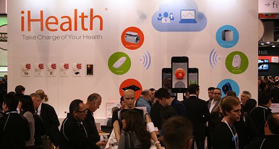 iHealth CES2014 booth