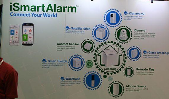 iSmartAlarm CES2014 booth