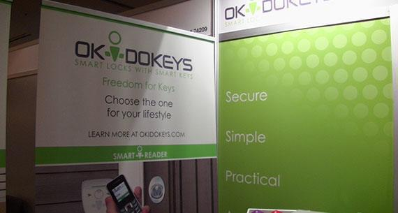 okidokeys booth ces2014