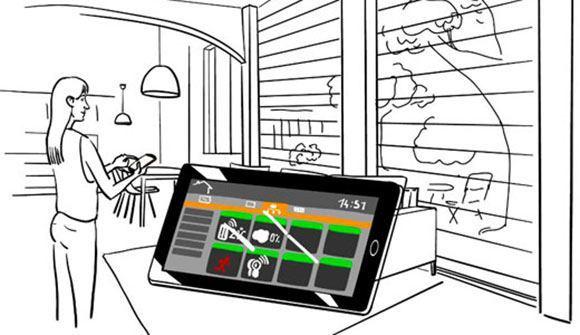 orange_smart_home_tablet