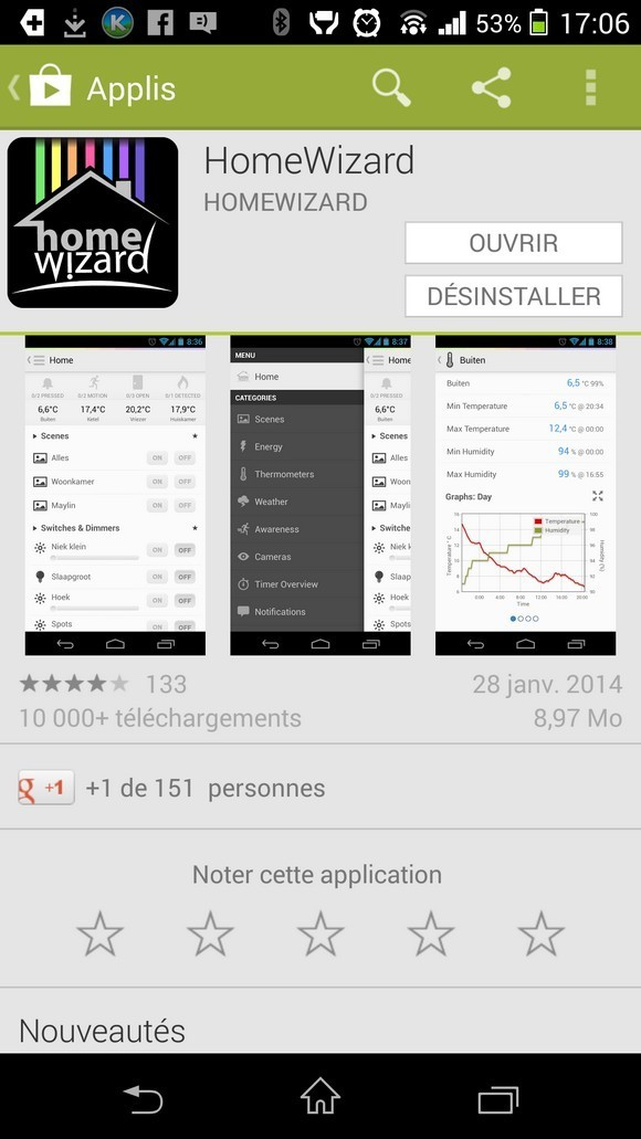 Test de la box HomeWizard