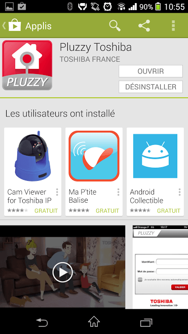 Test du Pack Home Pluzzy (Toshiba)