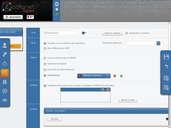 zibase controleur guide installation fgk 14 580x435 Guide d'installation du détecteur d'ouverture Fibaro FGK 101 avec la ZiBASE