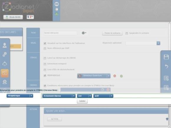 zibase controleur guide installation fgk 17 580x435 Guide d'installation du détecteur d'ouverture Fibaro FGK 101 avec la ZiBASE