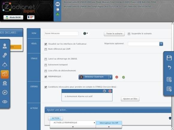 zibase controleur guide installation fgk 18 580x435 Guide d'installation du détecteur d'ouverture Fibaro FGK 101 avec la ZiBASE