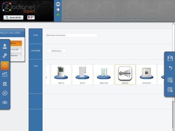 zibase controleur guide installation fgk 5 580x435 Guide d'installation du détecteur d'ouverture Fibaro FGK 101 avec la ZiBASE