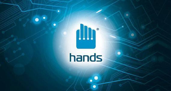 Adam hands company logo