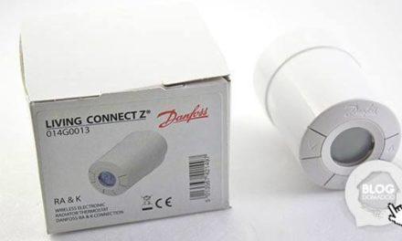 Nouvelle tête thermostatique Danfoss Living Connect Z-Wave